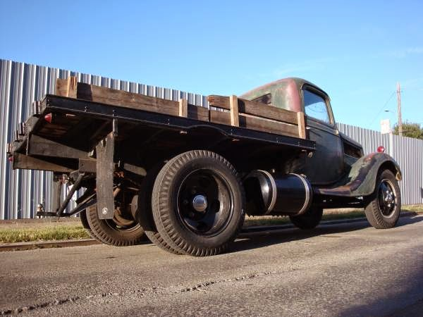 Ford Truck Flatbed Rear