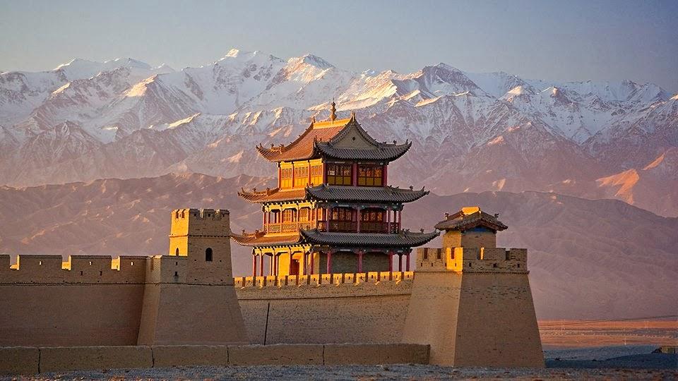 Descubre tu mundo interesante el comienzo y el final for Q es la muralla china