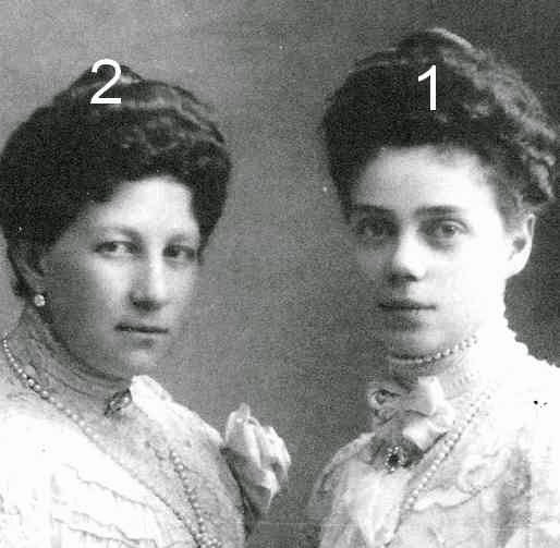 Xenia Alexandrovna de Russie et Marie de Grèce