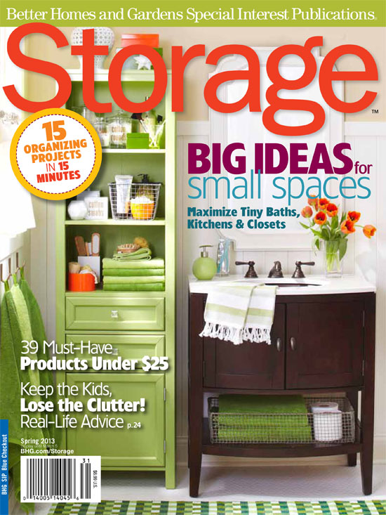 IHeart Organizing Spring 2013 Storage Magazine Issue is HERE