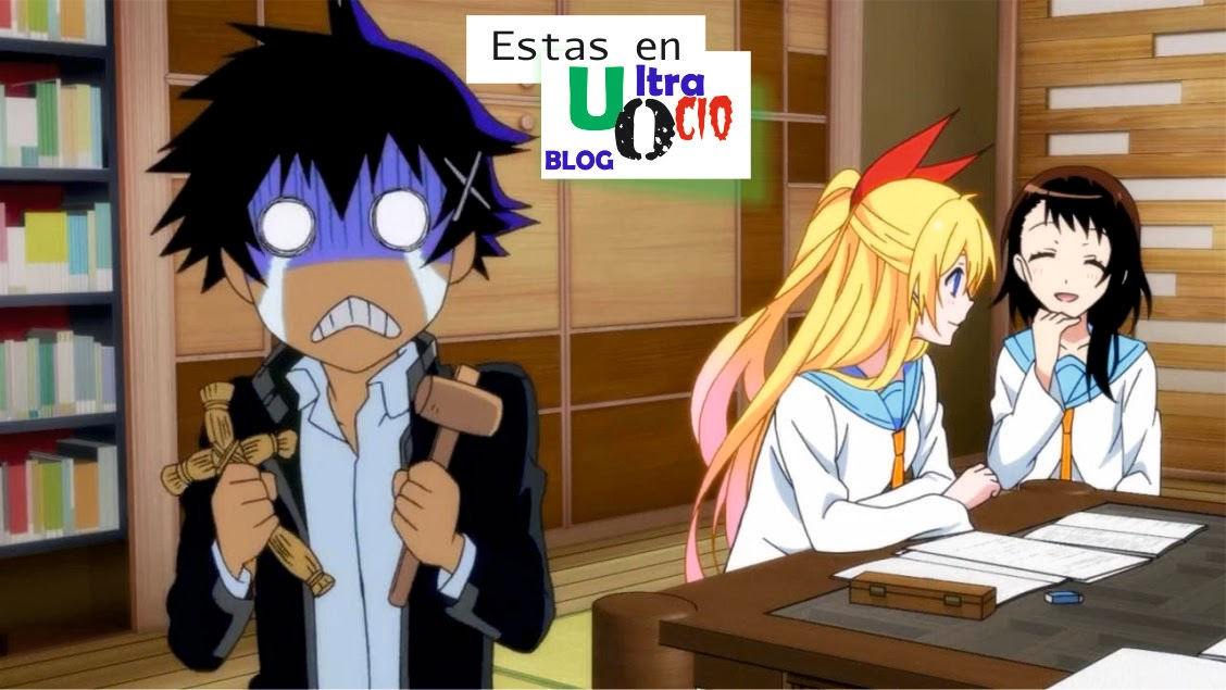 Raku chitoge kirisaki onodera anime manga