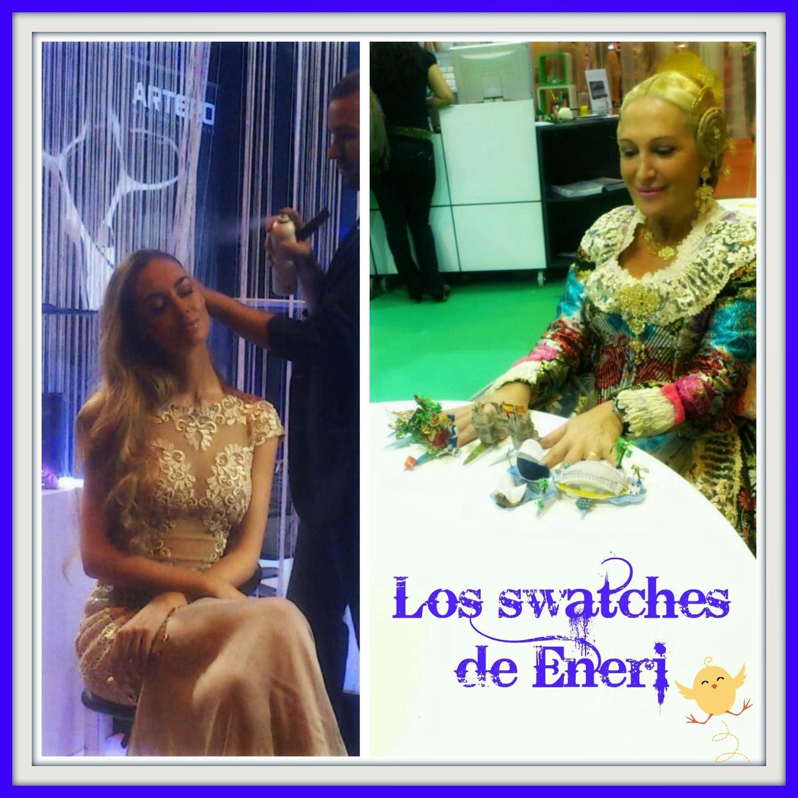 Los swatches de Eneri: ENCARGOS DE PEGGY SAGE EN EL SALON LOOK ...