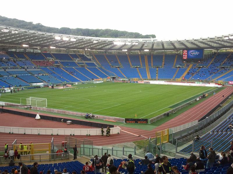 stadio olimpico di roma cagliari