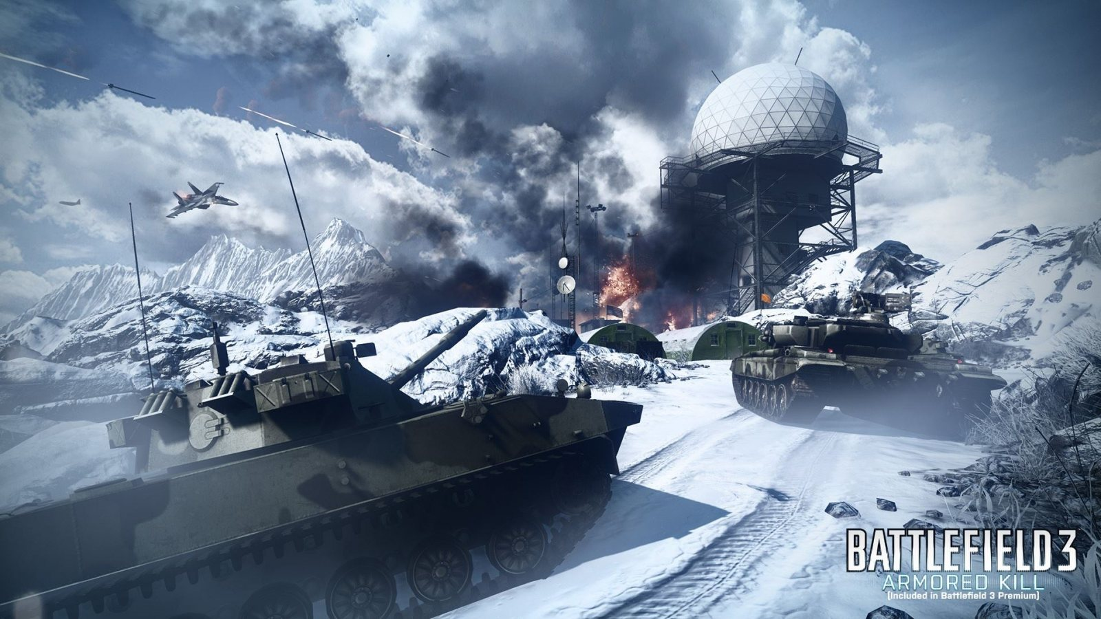 battlefield 3 armored kill wallpapers - 3 Battlefield 3 Armored Kill HD Wallpapers Backgrounds