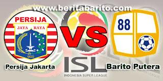 Prediksi terbaru  Persija Jakarta vs Barito Putera 15 Mei 2013