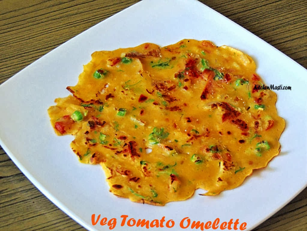 Veg Tomato Omelette