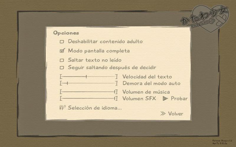 Katawa Shoujo Multilenguaje (Castellano) + BSO