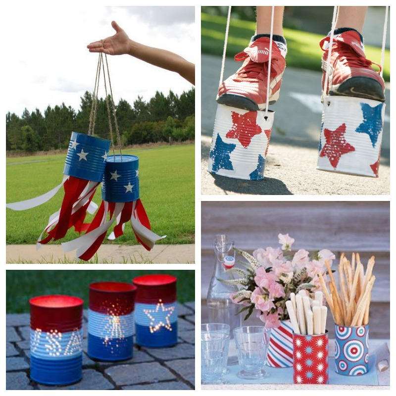 Pure and noble reduce reuse recycle fourth of july for Reduce reuse recycle crafts