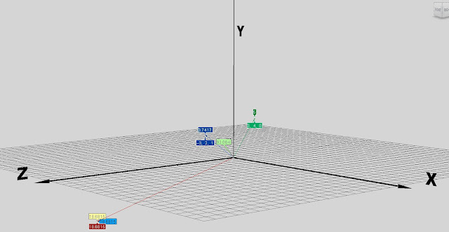 ICE/SOFTIMAGE cross product vector arrows