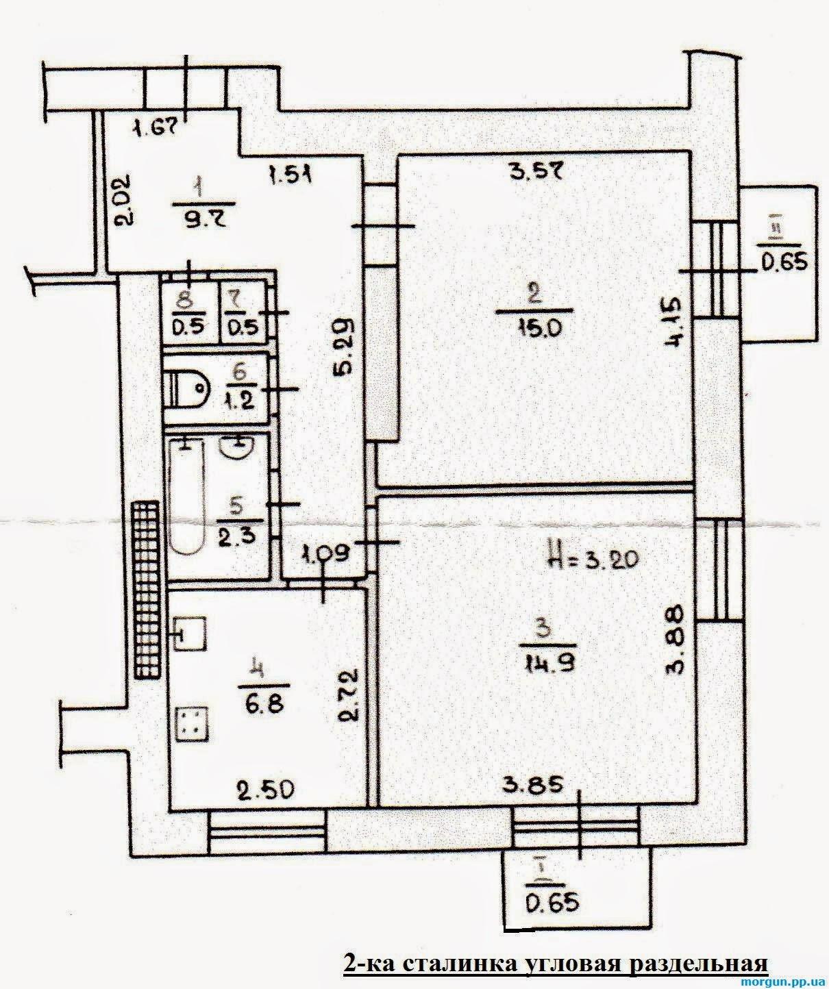 Типовые планировки квартир в городе кривой рог - продажа ква.