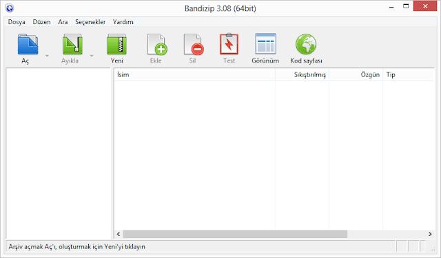 Bandizip indir download