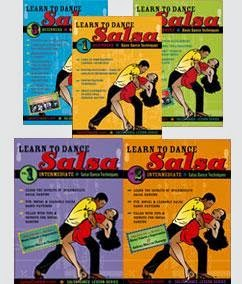 Salsa Dancing Mastery System (5 DVD Set)