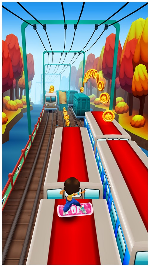 Screenshot Subway Surfers Seoul