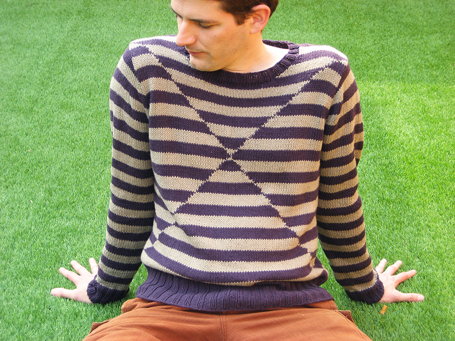 Knit For Your Man Without Consequences Vidal From Rowan Mag 53