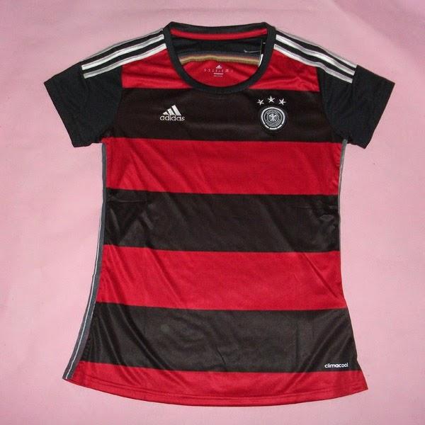 Jersey Women (Cewek) Jerman Away 2014