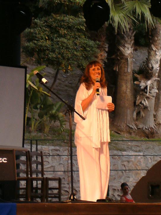 Carmen Abenza en el II Festival de Mares de Posidonia en Almuñecar