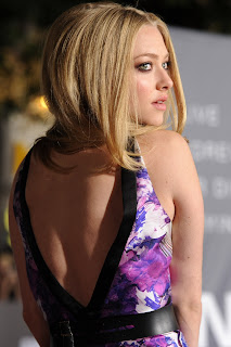 Amanda Seyfried Backless Dress