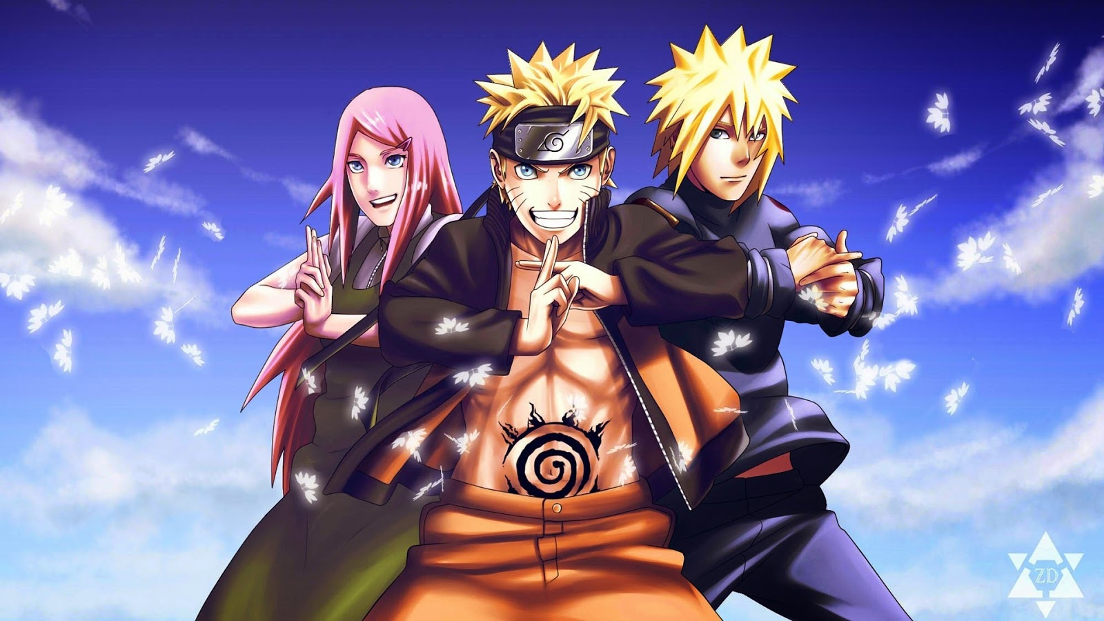 Naruto And Friends Wallpaper