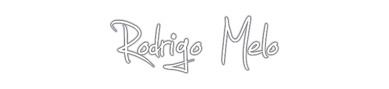BLOG: Rodrigo Melo