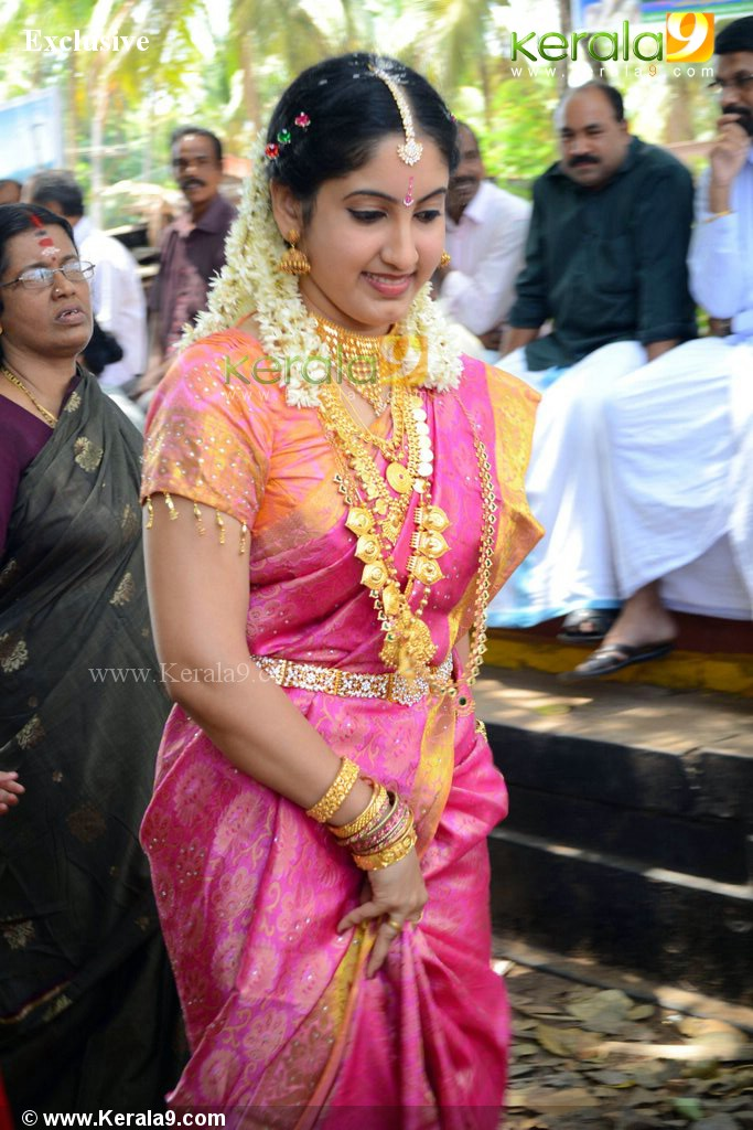 Tv actress sreekala wedding