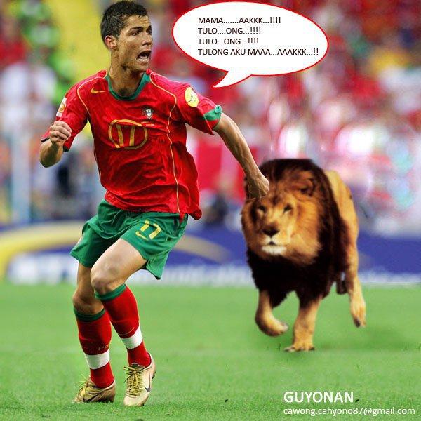 Gambar Ronaldo Dan Messi Lucu
