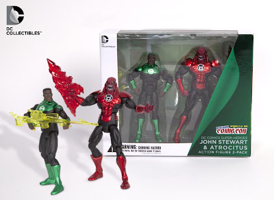 New York Comic-Con 2012 Exclusive Green Lantern DC Collectibles Action Figure 2 Pack - John Stewart & Atrocitus