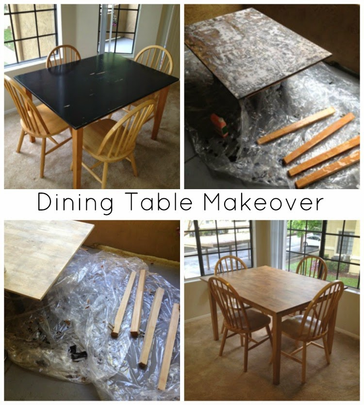 A Simple Table Makeover