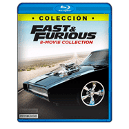 Saga Completa de Rapido y Furioso 1 al 8 Full HD-720p Audio Dual Latino-Ingles
