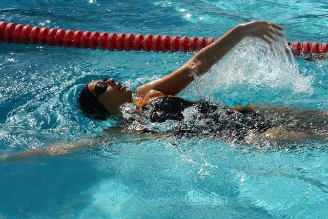 la natacion olimpica: