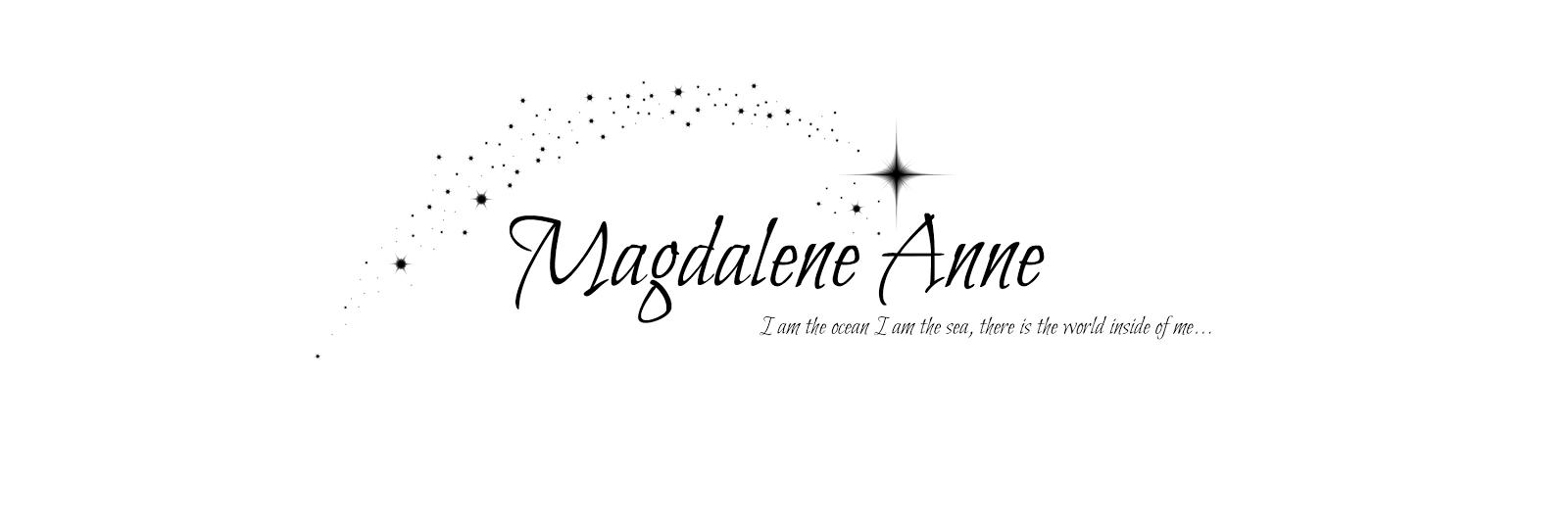 MagdaleneAnne  Blog ★