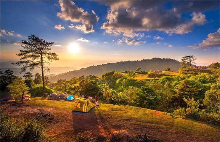 Huai Nam Dang National Park, Thailand