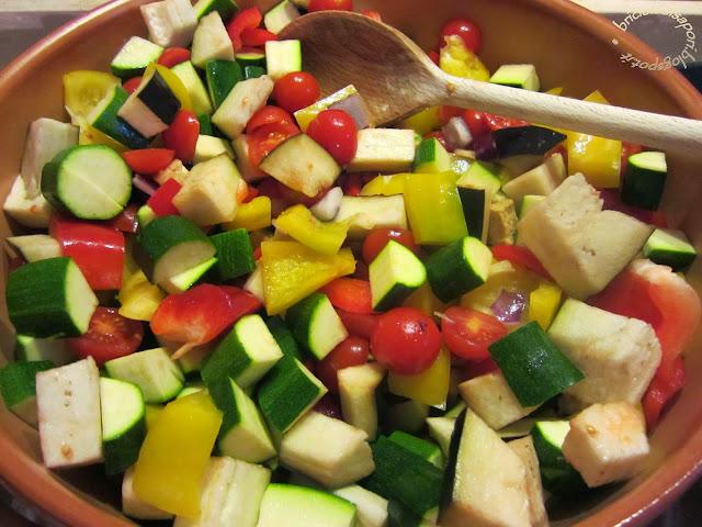 caponata di verdure
