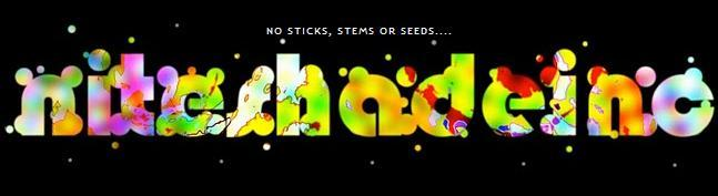 No sticks, stems or seeds....