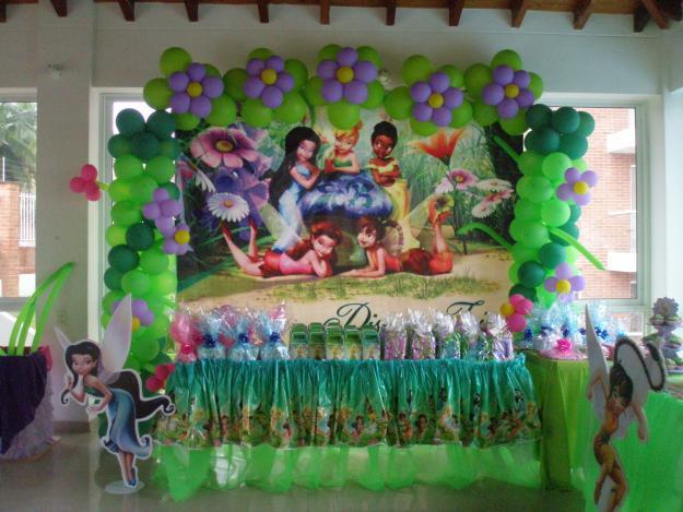 MuyAmeno.com: Decoracion Tinkerbell para Fiestas Infantiles, parte 3
