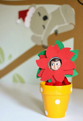 Elf On The Shelf Flower Pot