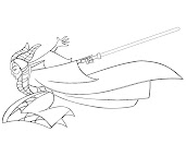 #9 Star Wars Coloring Page