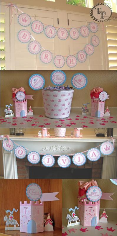 Cake Decor And More E U : ERICA KEUTER DESIGNS: TODDLER TUESDAY- MORE PRINCESS DECOR