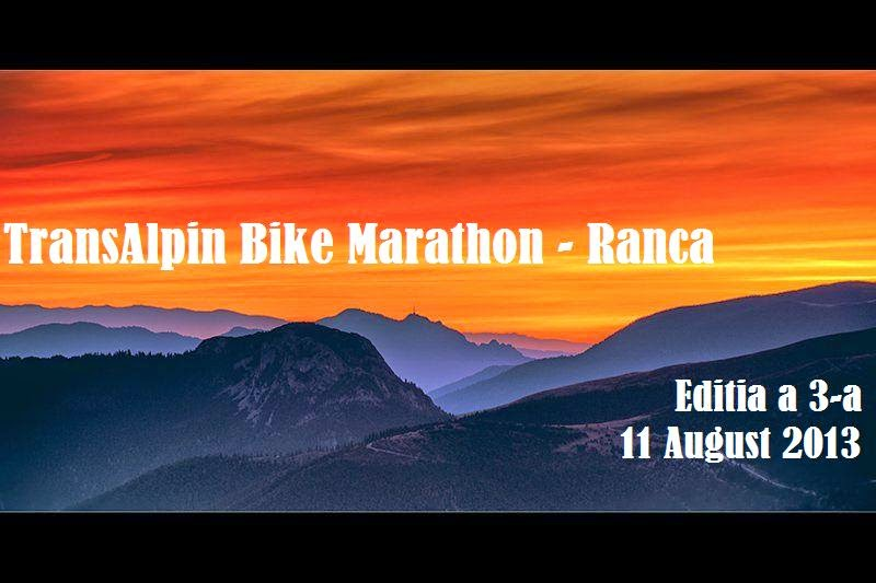TransAlpin Bike Marathon - Ranca 11.08.2013
