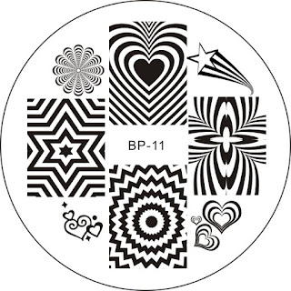 Born Pretty Store BP11 stamping Plate review