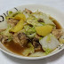 Chicken with Potato and Chinese Cabbage