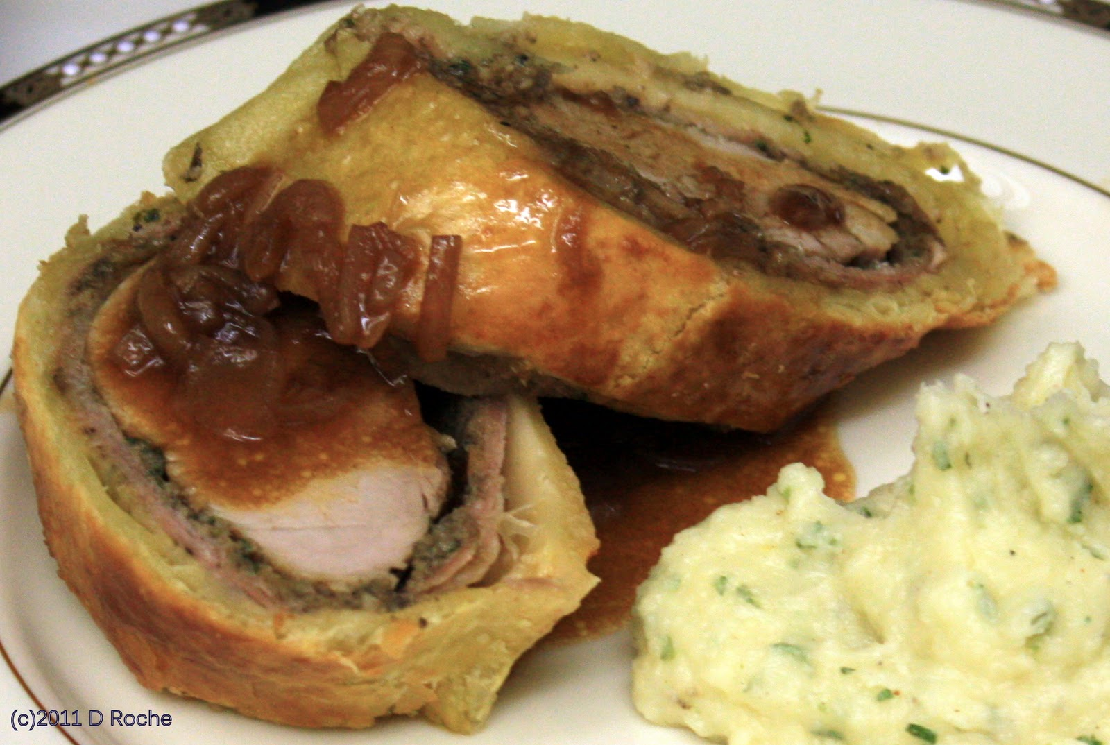 In the kitchen with NickPork Tenderloin Wellington, a