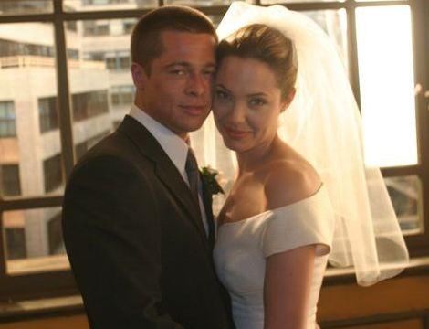 Gambar Perkahwinan Brad Pitt Dan Angelina Jolie! [2]