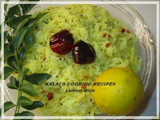 Lemon Rice | Elumiccai Saadam | எலுமிச்சை சாதம்