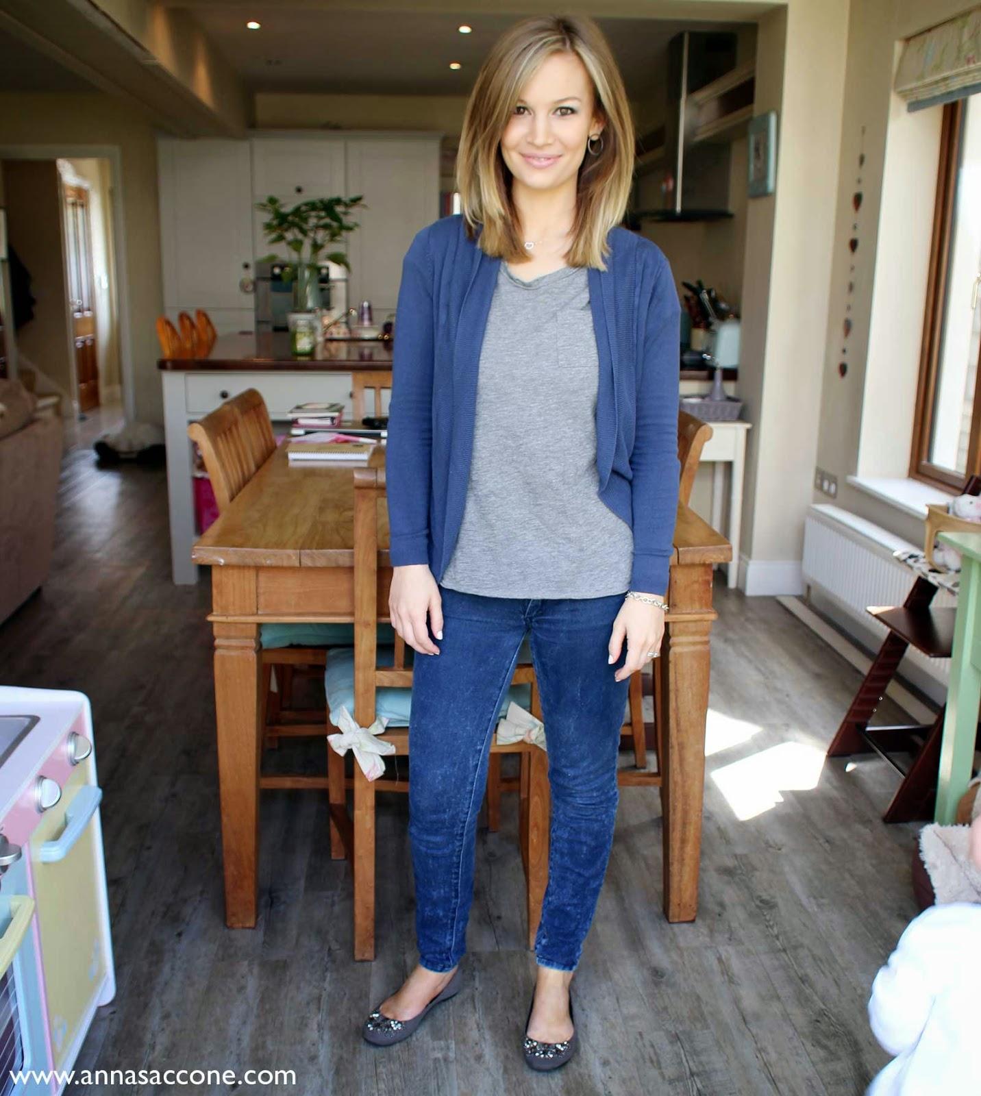 Fashion Friday Blue Amp Grey Anna Saccone Joly