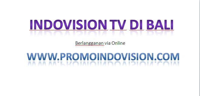 Indovision TV di BALI