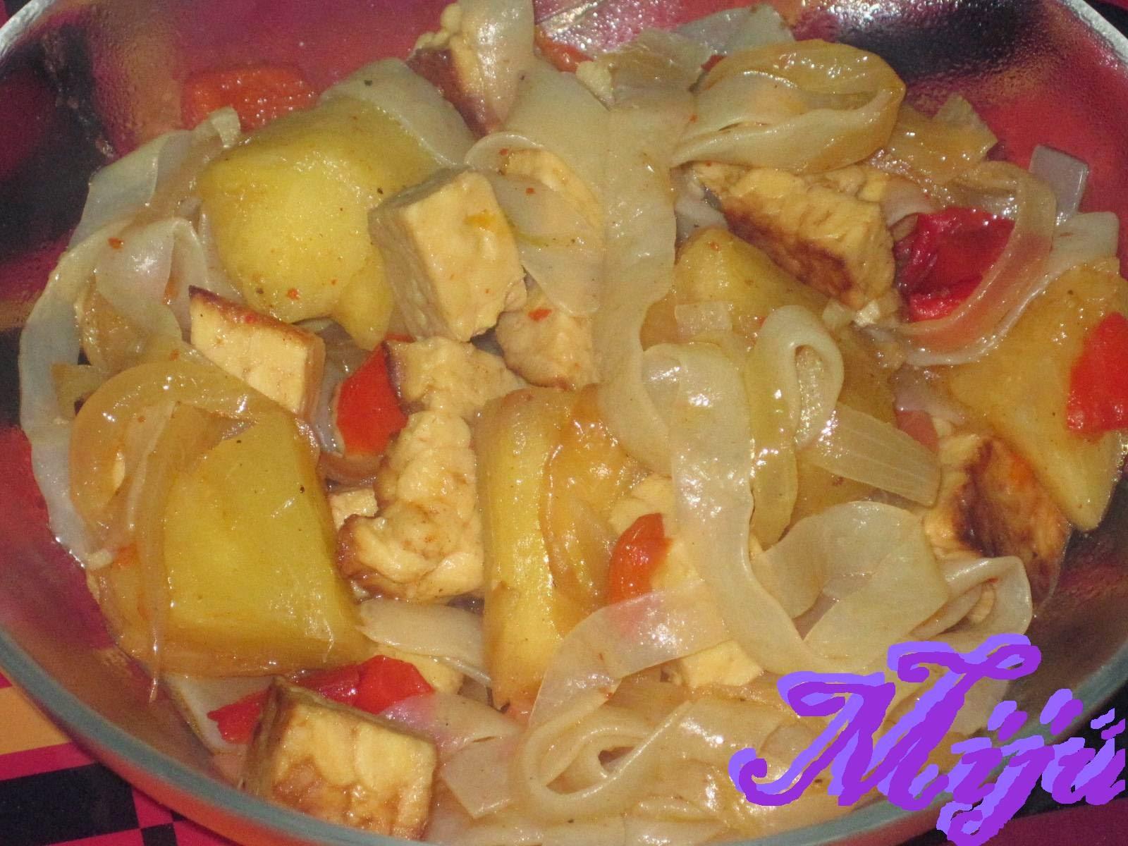 El bocado de la huerta tempeh con konjac for Cocinar konjac