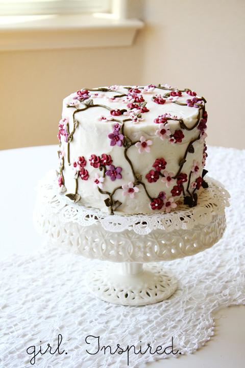 The Secret Garden Cake - girl. Inspired.