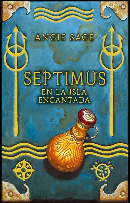 Septimus y la isla encantada de Angie Sage