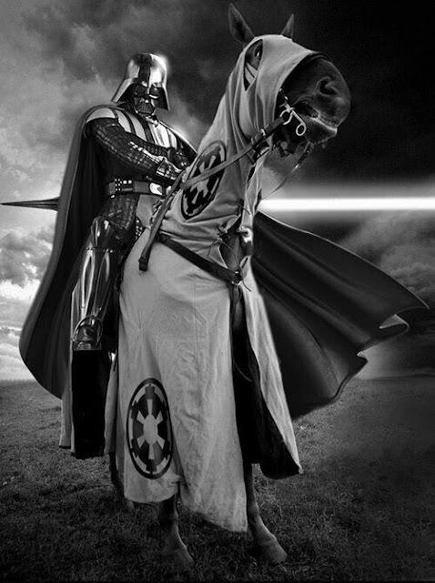 Darth Vader caballo justas - Juego de Tronos en los siete reinos