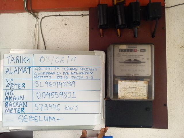 Perkhidmatan Elektrikal  TNB Meter Installation